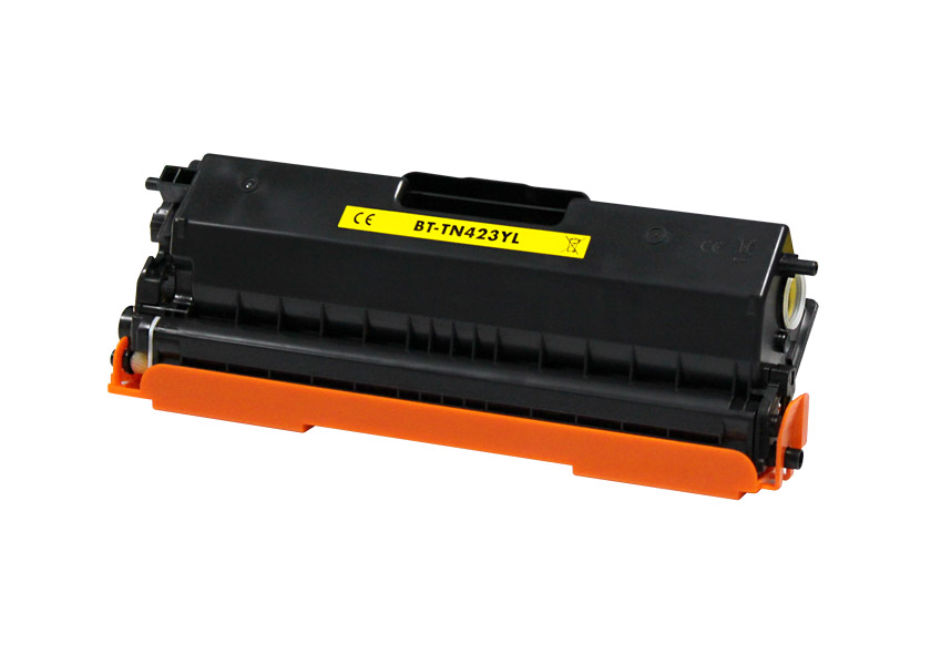 BROTHER TN421/TN423/TN426 AMARILLO CARTUCHO DE TONER GENERICO TN-421Y/TN-423Y/TN-426Y